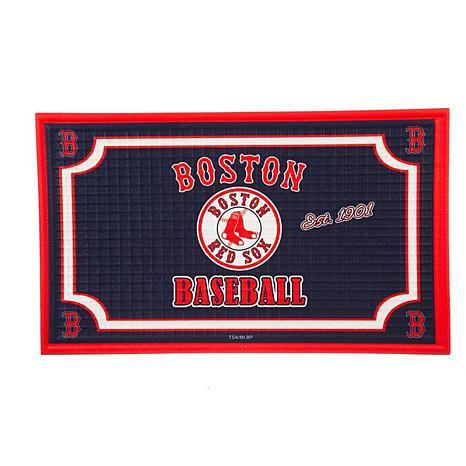 MLB Embossed Door Mat - Boston Red Sox