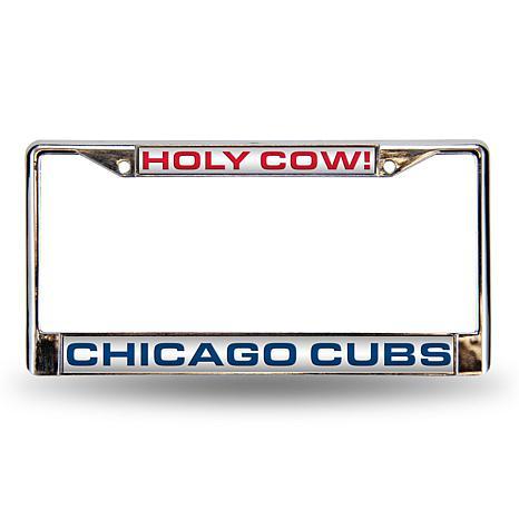 "MLB ""Holy Cow"" Laser-Cut Frame - Cubs"