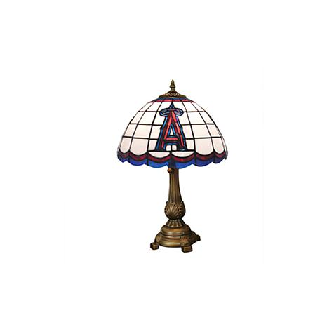 MLB Tiffany-Style Table Lamp - Anaheim Angels