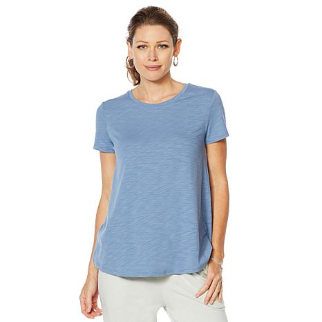 ModernSoul® Jersey Fashion Basic Tee with Pleated Back