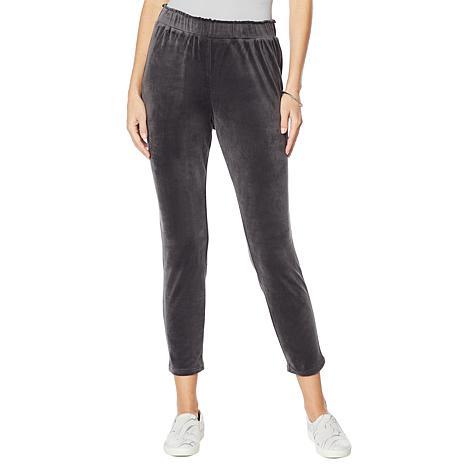 ModernSoul® Velour Pull-On Pant