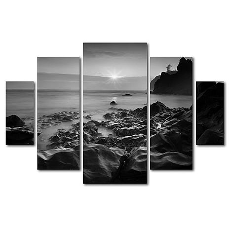 Moises Levy 'Sunset At Ruby Beach' Art Collection