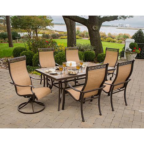 monaco 7piece outdoor dining set