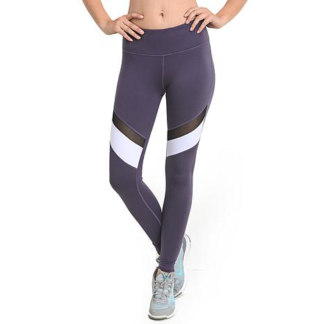 Mono B Colorblock Mesh Full Leggings