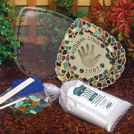 Mosaic Leaf Stepping-Stone Kit