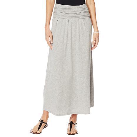 Motto Limitless Stretch Jersey Convertible Maxi Dress