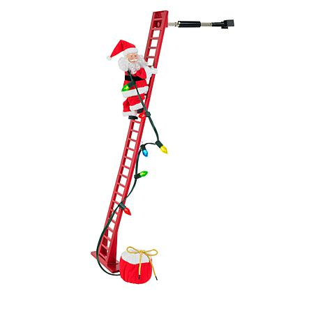 Mr. Christmas Super Climbing Musical Santa with LED Lights