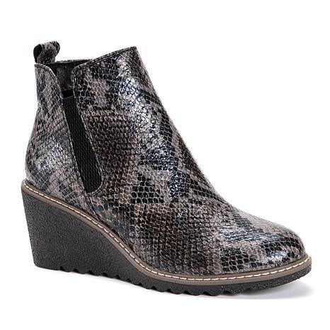 MUK LUKS Women's Dionne Wedge Boots