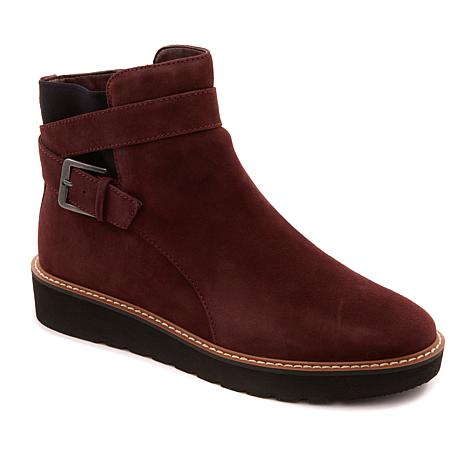 Naturalizer Aster Suede Ankle Boot