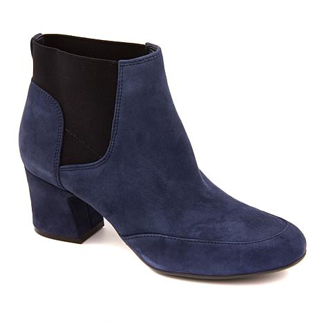 Naturalizer Danica Leather Pull-On Bootie