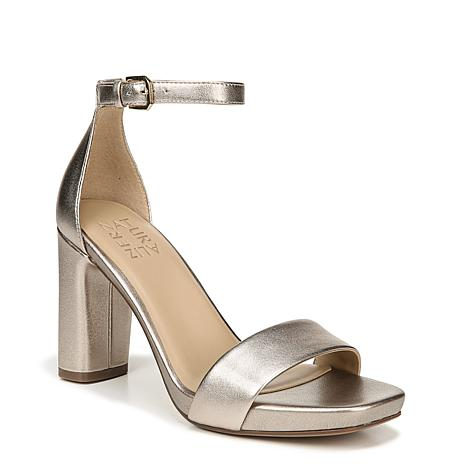 Naturalizer Joy Leather or Suede Heeled Sandal