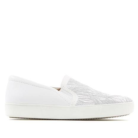 Naturalizer Marianne Embroidered Leather Slip-On Sneaker