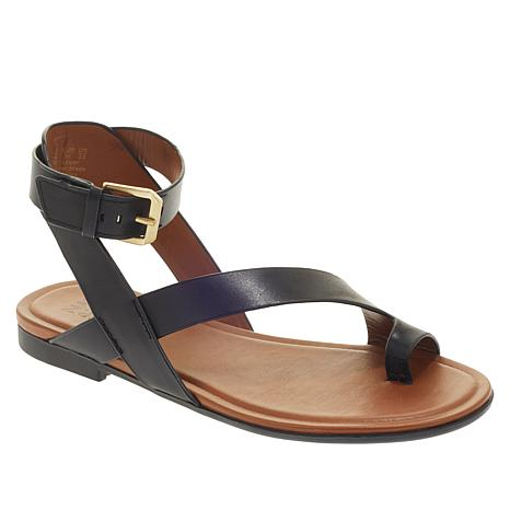 512e9889f3 Naturalizer Tally Leather Toe-Loop Sandal - 8995403 | HSN