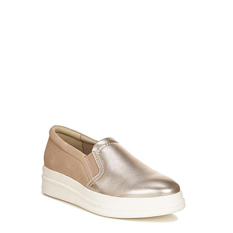 Naturalizer Yardley Leather/Suede Slip-On Sneaker