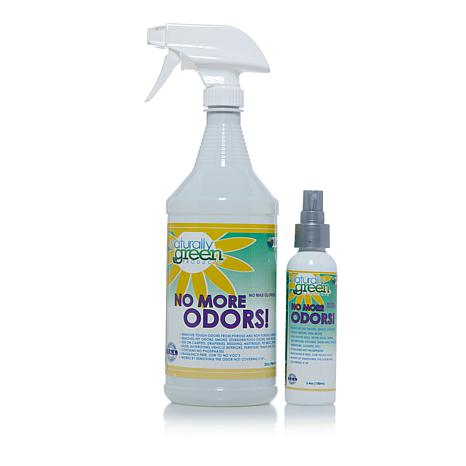 Naturally Green No More Odors! Fragrance-Free Odor Eliminator