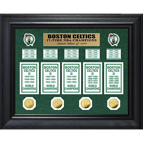 NBA Celtics 17-Time NBA Champs Banner Collection
