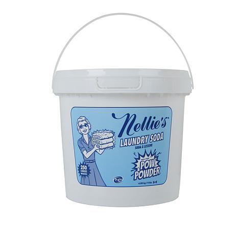 Nellie's 250-Load Laundry Soda with POW Powder