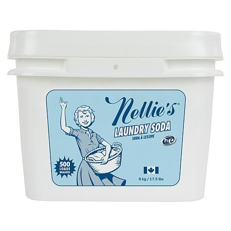 Nellie's Laundry Soda 500-Load Tub