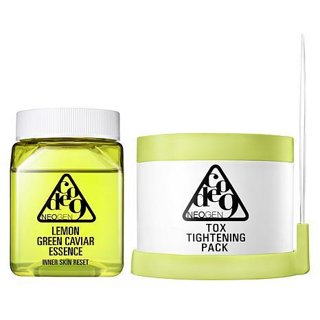 Neogen Lemon Green Caviar Essence & Cotton Pads