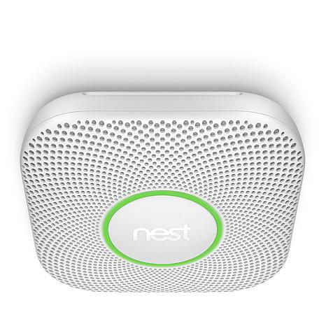 Nest Protect Battery-Powered Smart Smoke/CO2 Detector