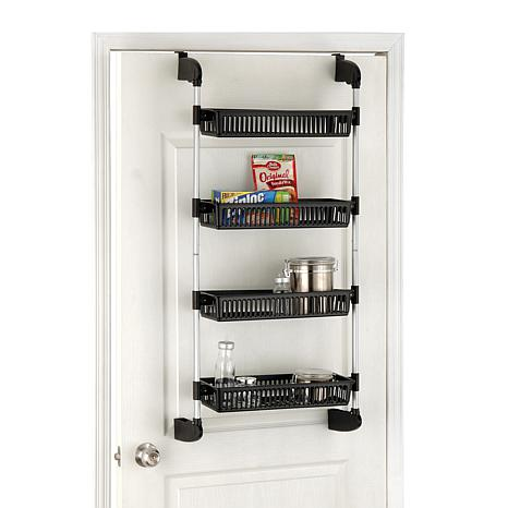 Neu Home Over-The-Door 4-Tier Storage Baskets