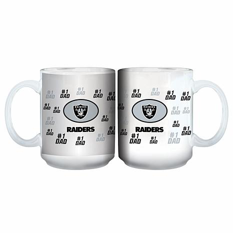 NFL 15 oz. Father's Day Team Mug - Raiders