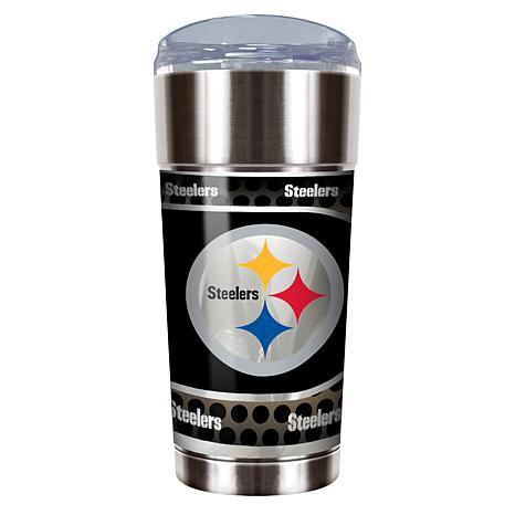 NFL 24 oz. Stainless Steel Eagle Tumbler - Steelers