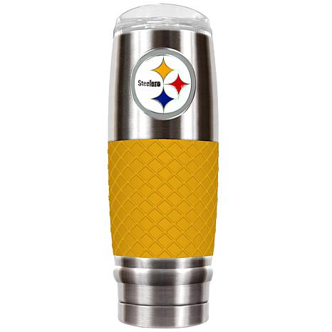 NFL 30 oz. Stainless/Yellow Reserve Tumbler - Steelers