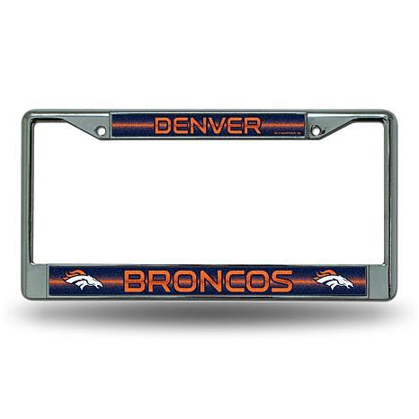 NFL Bling Chrome Frame - Broncos