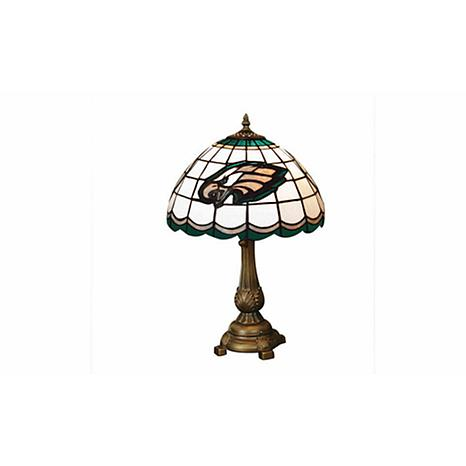Officially Licensed NFL Tiffany Style Table Lamp - Philadelphia ...