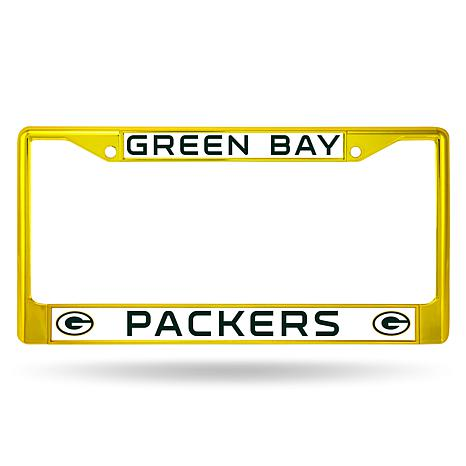 Officially Licensed NFL Colored Chrome License Plate Frame ...