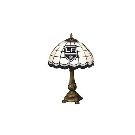 NHL Tiffany-Style Table Lamp - Los Angeles Kings