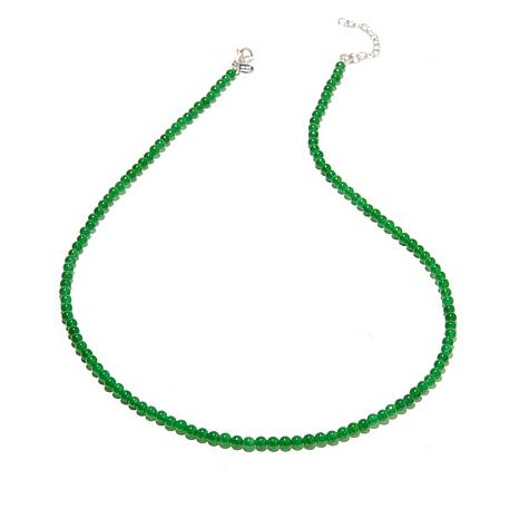 "Nicky Butler 4mm Gemstone Bead 20-3/4"" Necklace"