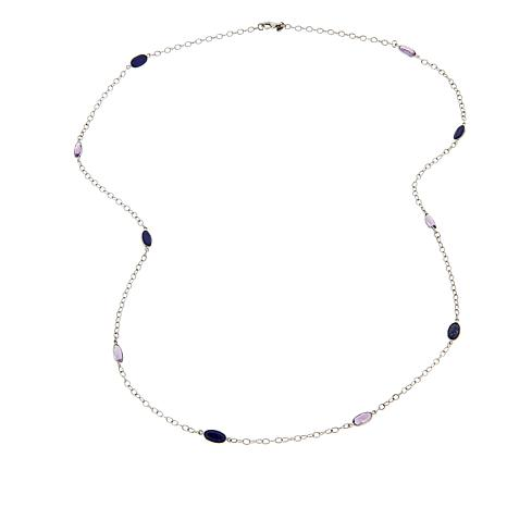 Nicky Butler 8.50ctw Amethyst and Lapis Necklace