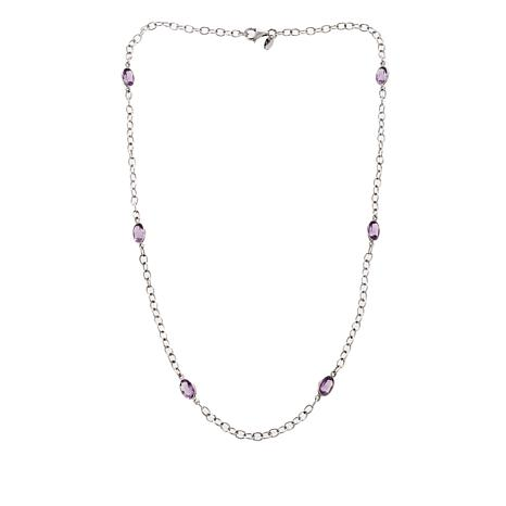Nicky Butler Amethyst Station Necklace