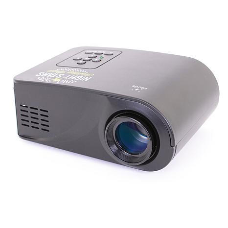Night Stars Premium Laser Light w/16-Color Spotlight -Red/Green Vortex