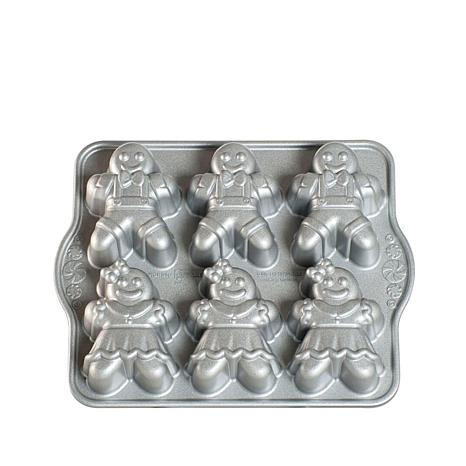 Nordic Ware Gingerbread Children Mini-Cake Pan