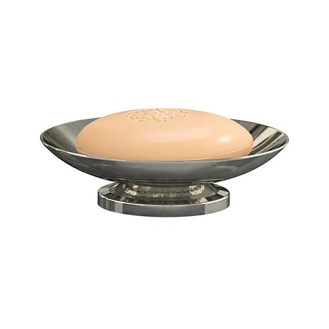 Nu Steel Classic Hammered Stainless Steel Soap Dish