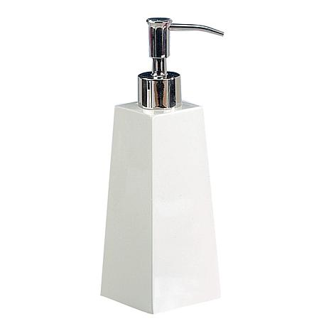 Nu-Steel Elegant White Soap/Lotion Dispenser