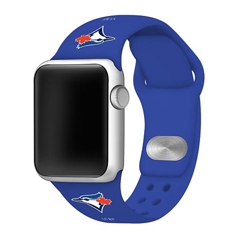 Officially Licensed MLB 38/40mm Apple Watch Band - Toronto Blue Jays
