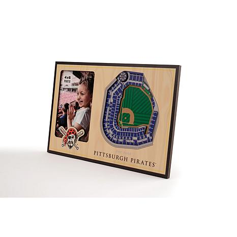 Officially Licensed MLB 3D StadiumViews Frame - Pittsburgh Pirates