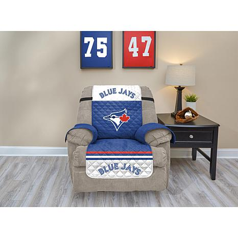 Officially Licensed MLB  Recliner Furniture Protector - Blue Jays