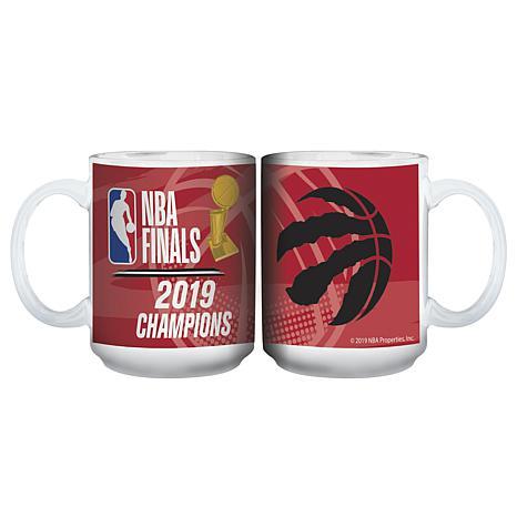 Officially Licensed NBA 2019 Champs 15 oz. Ceramic Mug - White