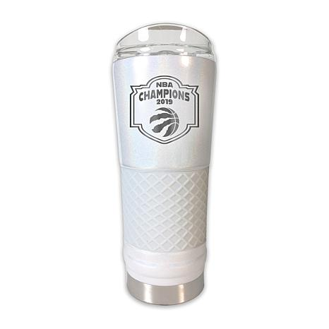 Officially Licensed NBA 2019 Champs 24oz. Opal Draft Tumbler