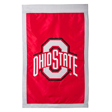 Officially Licensed NCAA Applique House Flag - Ohio State