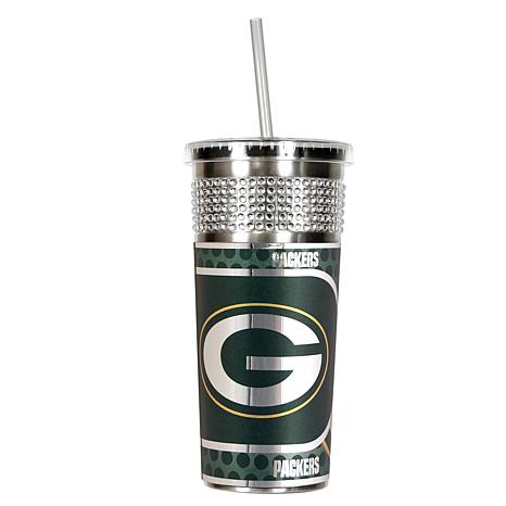 Officially Licensed Nfl 16 Oz Stainless Steel Bling