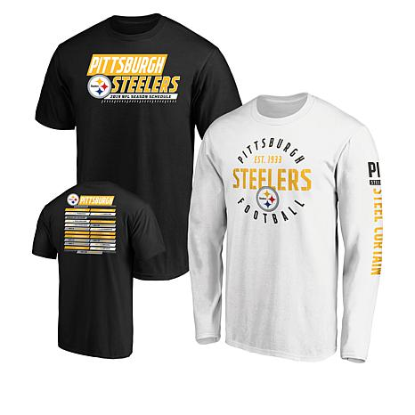 reputable site 346b0 dfbf7 exclusive! Officially Licensed NFL 3-in-1 T-Shirt Combo by Fanatics -  Steelers