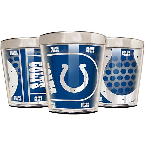 Officially Licensed NFL 3pc Shot Glass Set - Colts