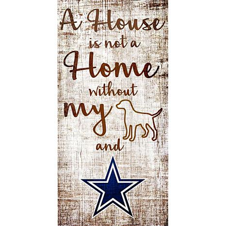 Officially Licensed NFL A House Is Not Home Sign