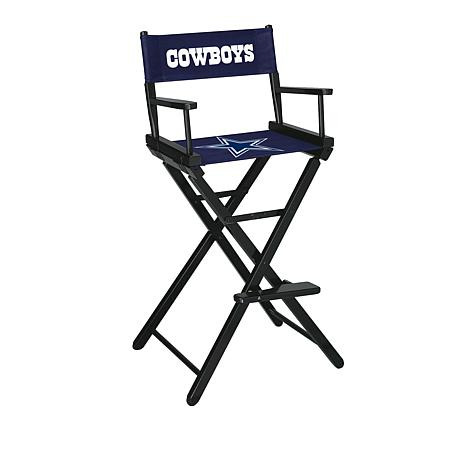 Officially Licensed NFL Bar Height Director's Chair